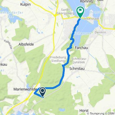 Moderate Route in Ratzeburg