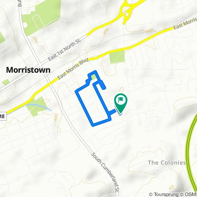 Steady ride in Morristown