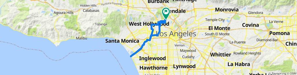 4639 Los Feliz Blvd, Los Angeles to 2035 Hillhurst Ave, Los Angeles