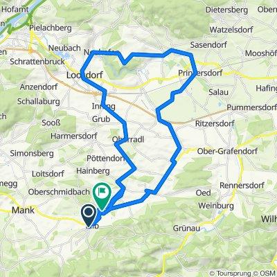 Kilb - Loosdorf - Hafnerbach - Prinzersdorf - St Maragrethen