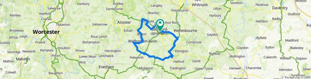 Arden Court, Arden Street, Stratford-upon-Avon to 7–14 Waterside, Stratford-upon-Avon