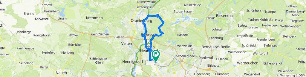 Briesetal - Oranienburg