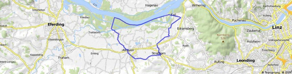 Straßham-Alkoven-Donaudamm-Schönering