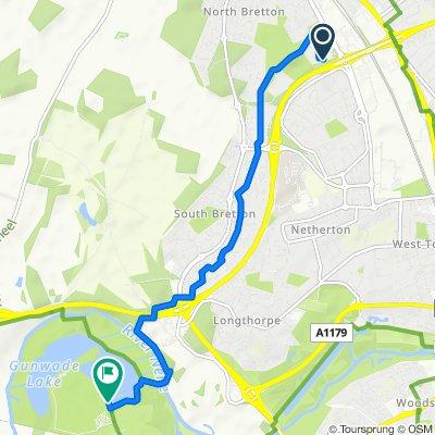 90 Ellindon, Peterborough to Ham Lane, Peterborough
