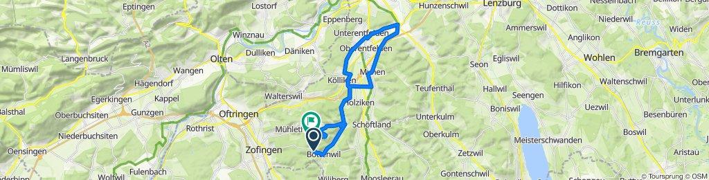 Grabenstrasse 102, Bottenwil nach Dänibach 2, Uerkheim