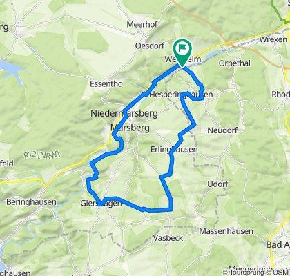 Westheim -Giershagen Rundfahrt