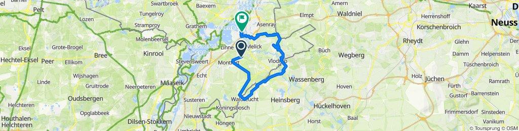 Ontspannen route in Roermond
