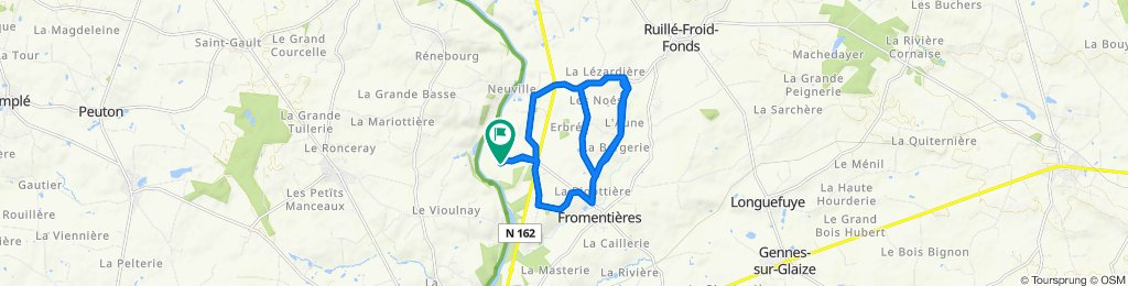 Slow ride in Fromentières