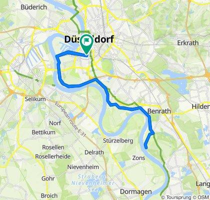 Mörderische Fahrt in Düsseldorf