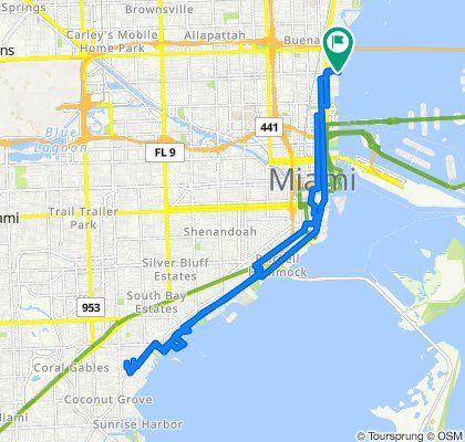 710 NE 29th St, Miami to 710 NE 29th St, Miami