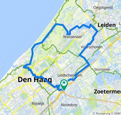 Fietsroute Voetsporen van Nederland