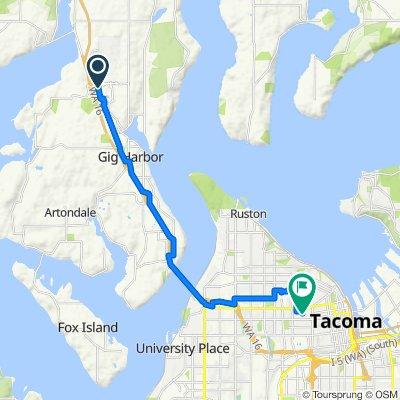 Cushman Trail, Gig Harbor to South Prospect Street 816, Tacoma