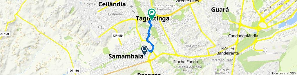 Passeio rápido em Brasília