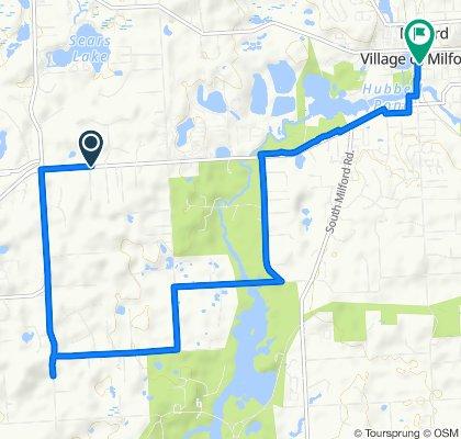 2847–2899 General Motors Rd, Milford to 332 N Main St, Milford