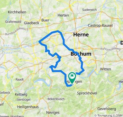 Hattingen-Rhein-Herne-Kanal-Zoom-Bochum-Hattingen