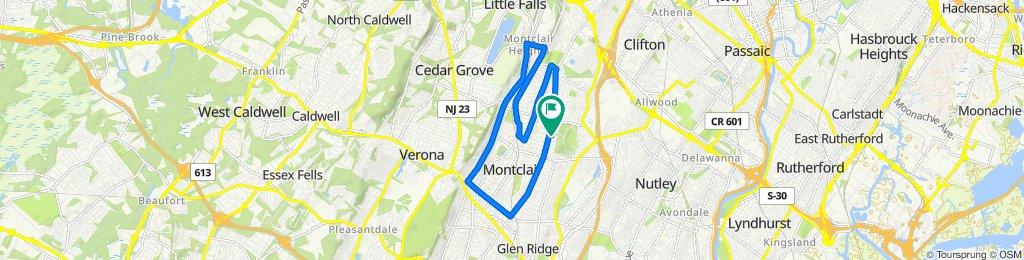 71 Wildwood Ave, Montclair to 72 Wildwood Ave, Montclair