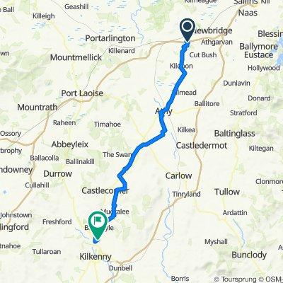 Dublin Road, Kildare to Radestown Lane, Radestown