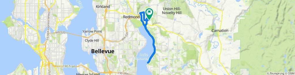 19308 NE 64th Way, Redmond to 19308 NE 64th Way, Redmond