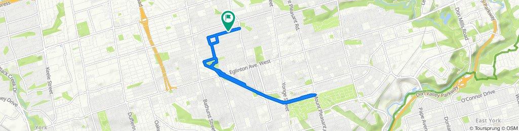 Slow ride in Toronto