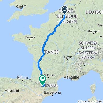 Van Brussel naar Ramastue