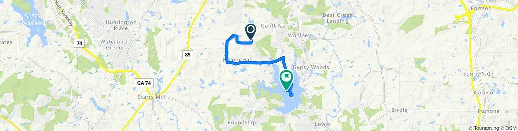 Restful route in Fayetteville
