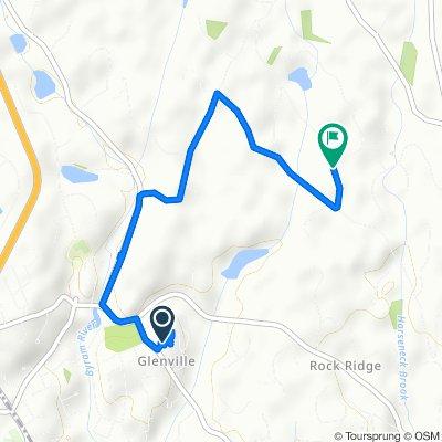 255 Weaver St, Greenwich to 14–16 Fox Run Ln, Greenwich