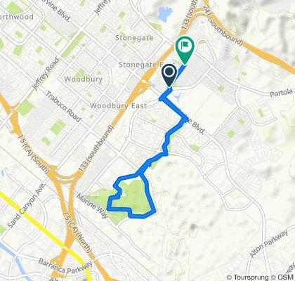 Steady ride in Irvine