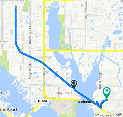 Pinellas Trail, Saint Petersburg to 8040 47th Ave N, Saint Petersburg