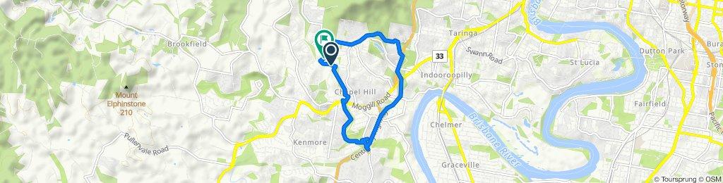4 Ironbark Road, Chapel Hill to 12 Dulhunty Street, Chapel Hill
