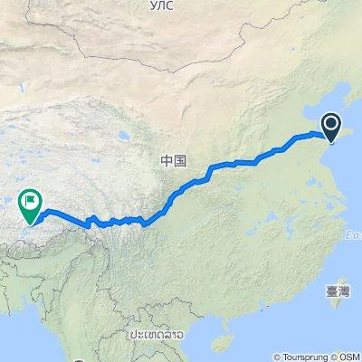 经 成都 走川藏南线 前往? 布达拉宫