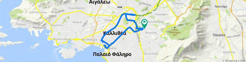 Slow ride in Vyronas