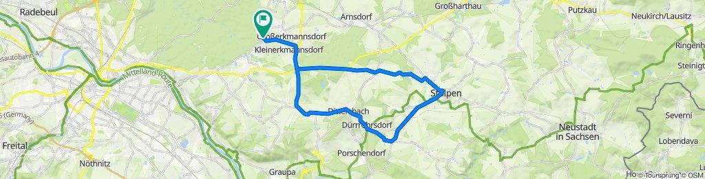 Tanzzipfelweg 4, Radeberg nach Tanzzipfelweg 3, Radeberg