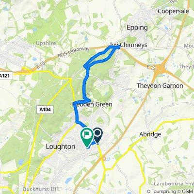 10 Torrington Drive, Loughton to 7 Deepdene Path, Loughton