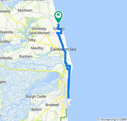 Scratby to Great Yarmouth