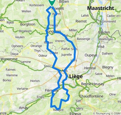2020-23 Neupré 98km kort