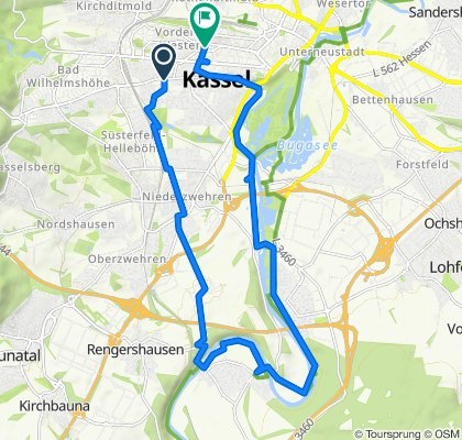 Moderate Route in Kassel
