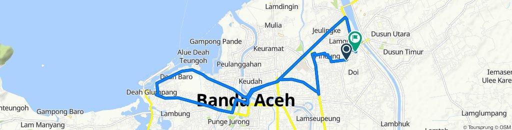 Jalan Teuku Lamgugop, Kuta Alam to Jalan Puskesmas, Kuta Alam