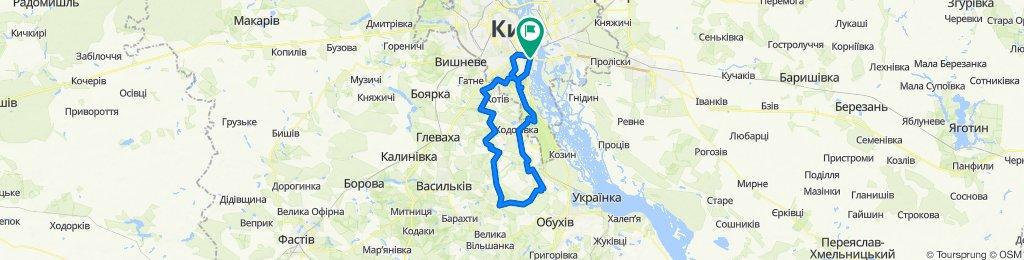 Голосіївський парк    Планерна гора   Київська Русь