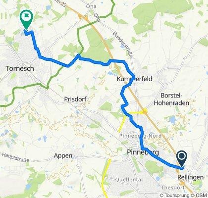 Gemütliche Route in Tornesch