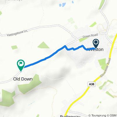 16 Greenhill Road, Bristol to Alveston Road, Bristol