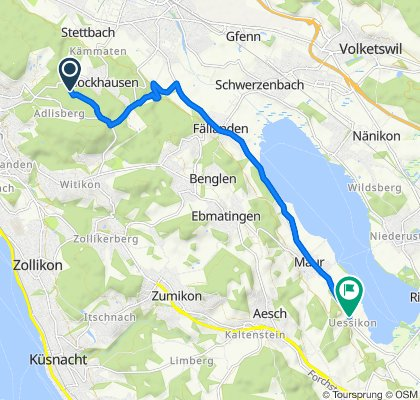De Hauerweg, Zürich a Rellikonstrasse 114, Maur