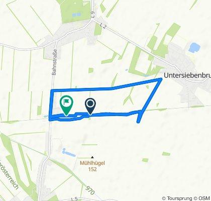 Knackige Fahrt in Obersiebenbrunn