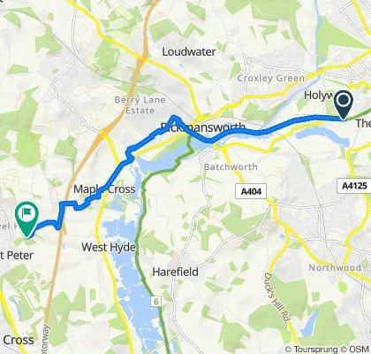 Easy ride in Gerrards Cross