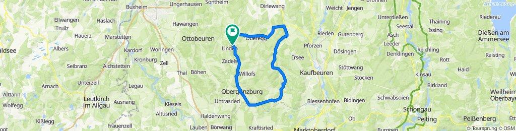 Engetried-Günzach-Münzenried-Lauchdorf u. zurück