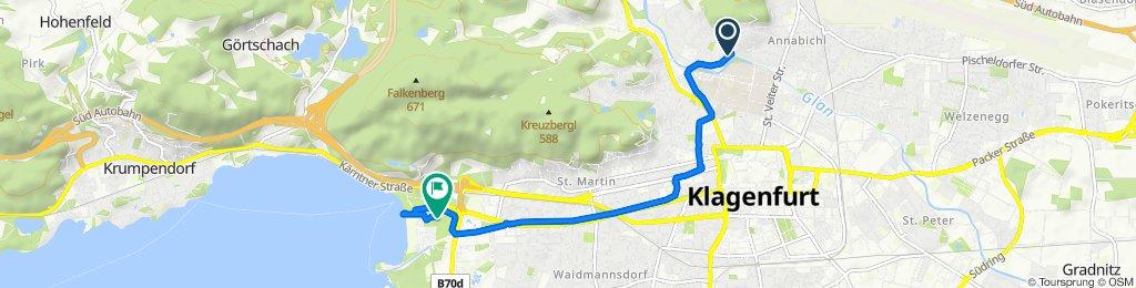 Einfache Fahrt in Klagenfurt am Wörthersee