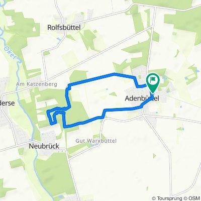 Moderate Route in Adenbüttel