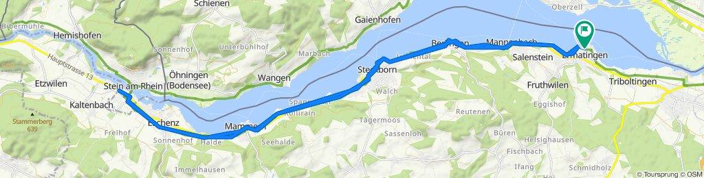 Heimgartenstrasse 1, Ermatingen to Hornstrasse 3, Ermatingen