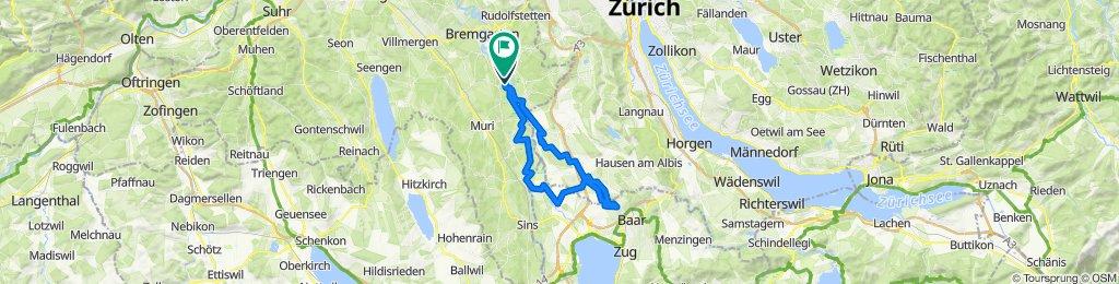 Schnelle Tour in Rottenschwil