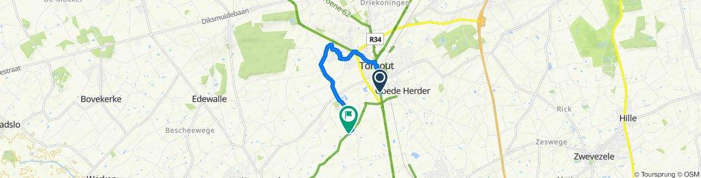 Makkelijke rit in Torhout
