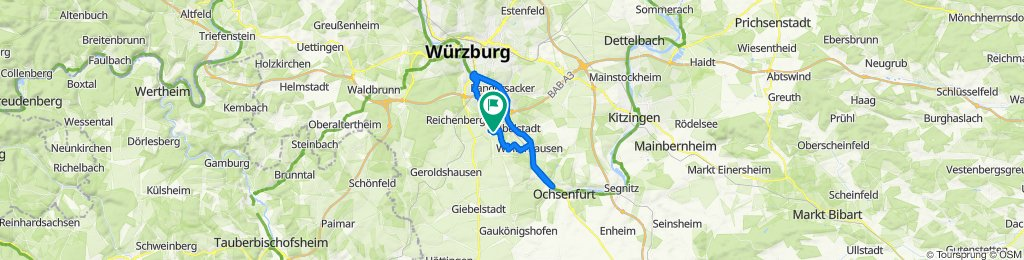 Rottenbauer - Ochsenfurt - Heingsfeld - Rottenbauer